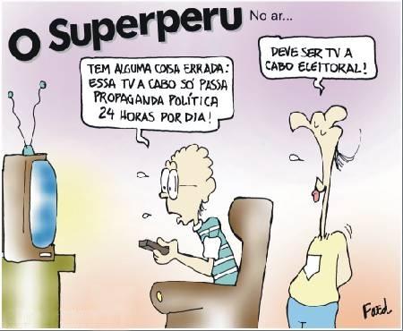 Charge publicada no Diário de Cuiabá em 19 de agosto de 2004
