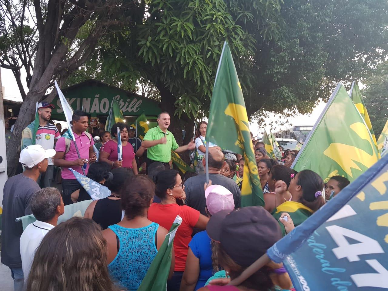 Wellington assume segundo lugar e intensifica mobilização em Cuiabá