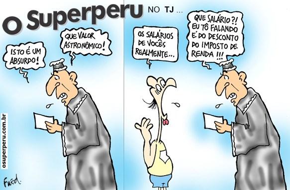 Charge publicada no Diário de Cuiabá em 28 de julho de 2011