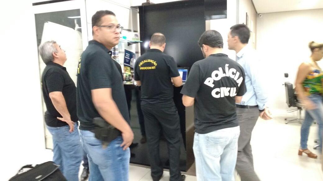 Criminoso é preso em Cuiabá ao tentar subornar polícia civil com R$ 100 mil