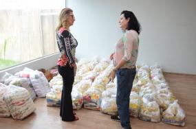Cuiabá inicia entrega de doação de alimentos e destina parte ao Hospital de Câncer