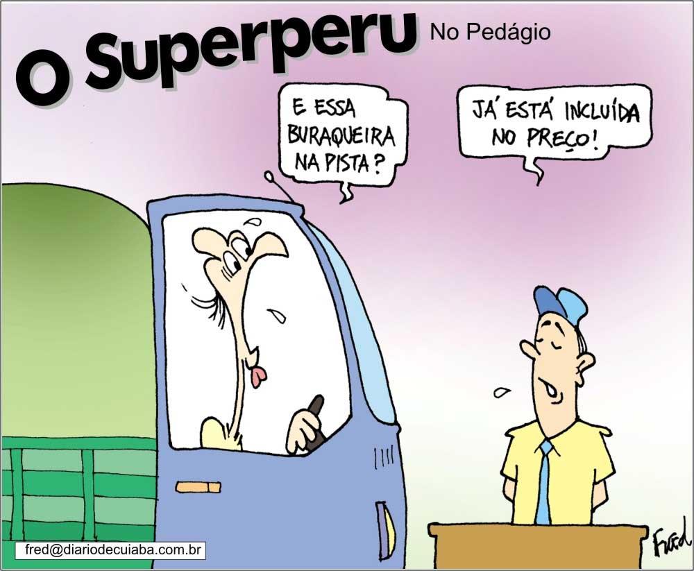 Charge publicada no Diário de Cuiabá em 15 de dezembro de 2000