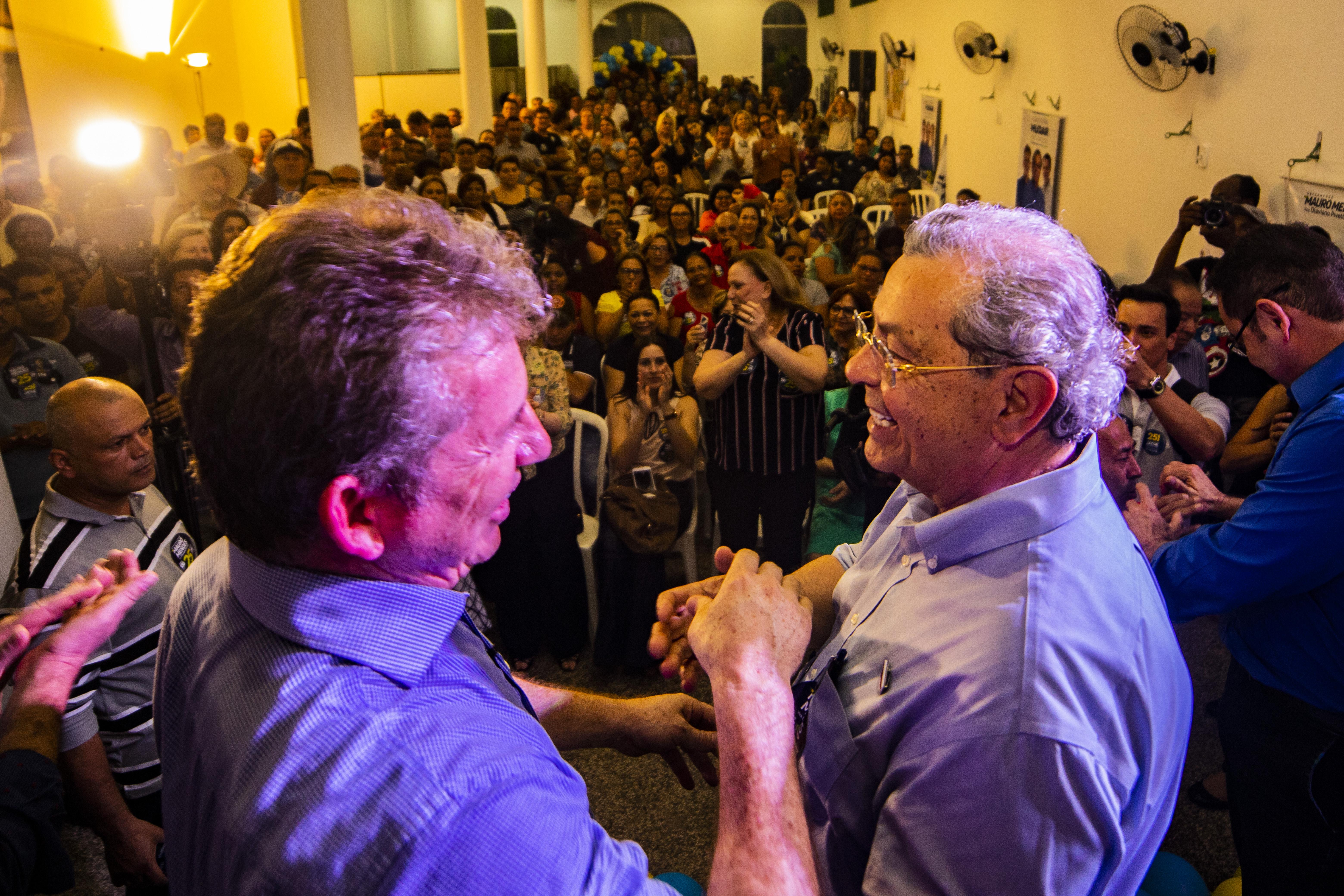 Mauro promete expandir no Estado programa criado pelo ex-prefeito Roberto França