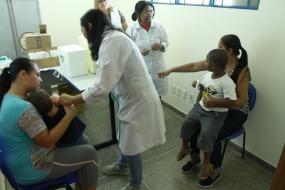 Meta de vacinação contra sarampo e poliomielite está baixa em Cuiabá