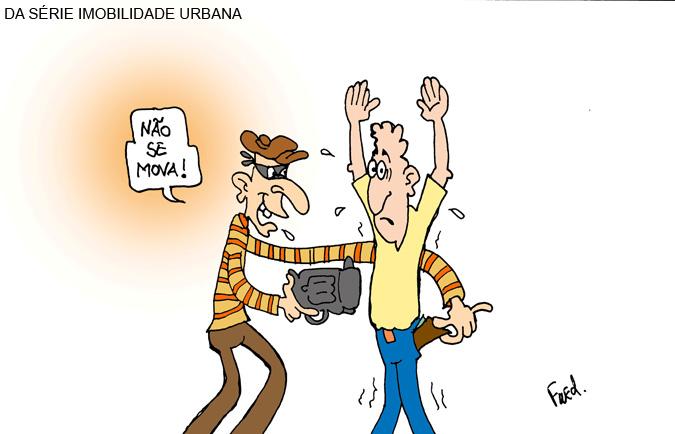 Charge publicada no Midianews em 11 de abril de 2011