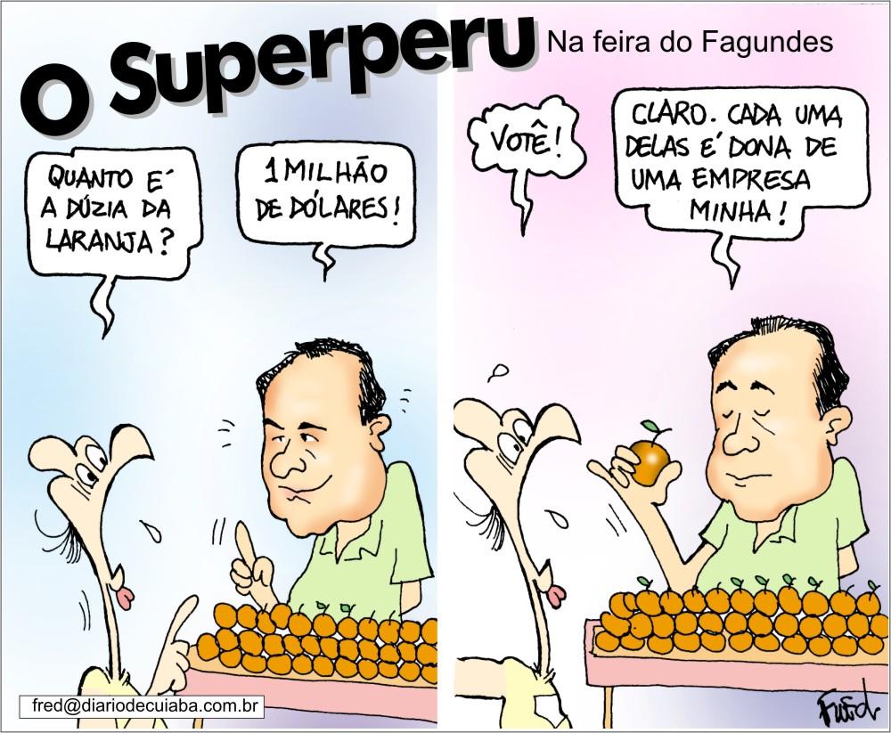 Charge publicada no Diário de Cuiabá em 19 de setembro de 2003