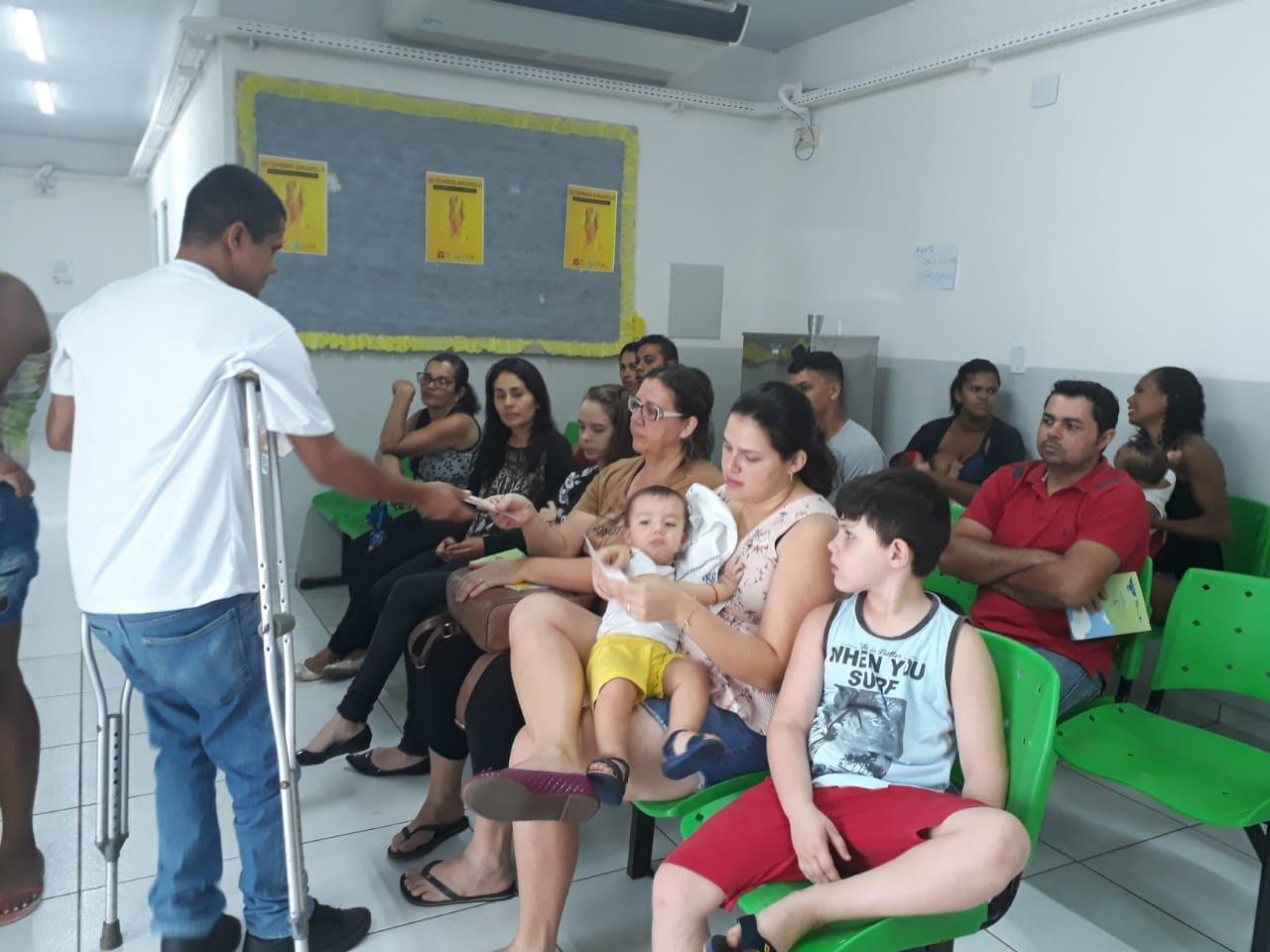 Entidade promove palestras para prevenir formação de Espinha Bífida