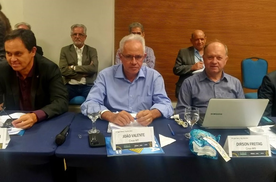 Presidente do Crea-MT integra 2ª reunião ordinária do Colégio de Presidentes
