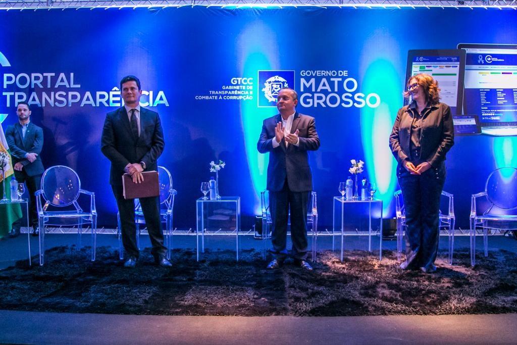 Estado lança Portal da Transparência em palestra com Moro