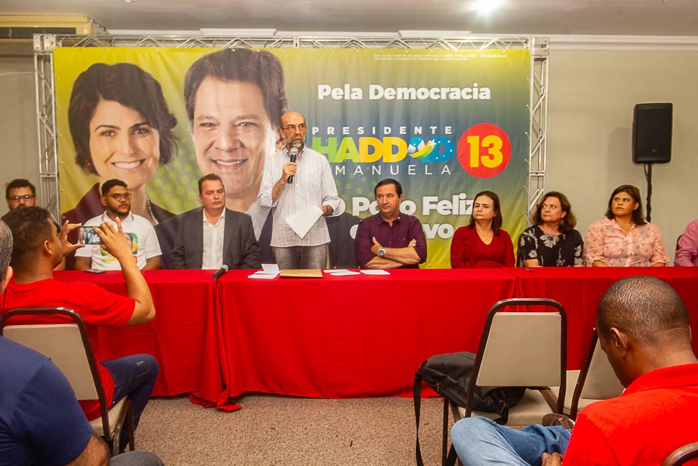 Bloco formado pelo PSB, PDT, PCB, PCdoB, Pros e Psol integra palanque contra Bolsonaro