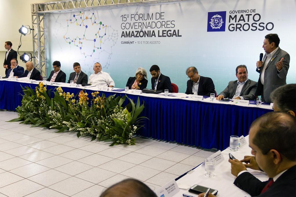 Estados criam Consórcio da Amazônia Legal que visa ações estratégicas