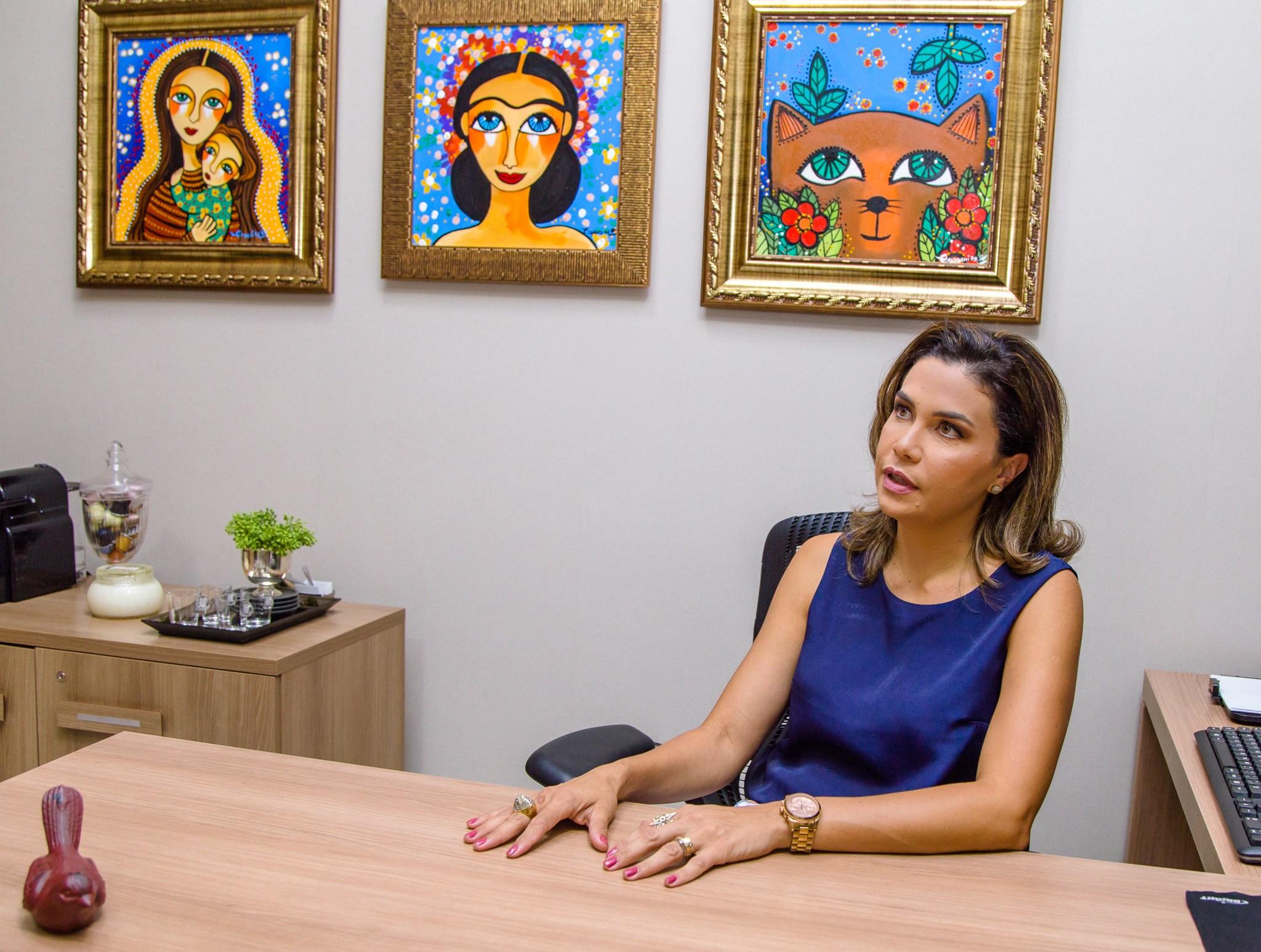 Advogada Nalian Cintra defende que mediação e conciliação são caminhos seguros para desafogar o Judiciário. Foto: Kamila Anjos - Foto: