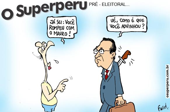 Charge publicada no Diário de Cuiabá em 18 de junho de 2012