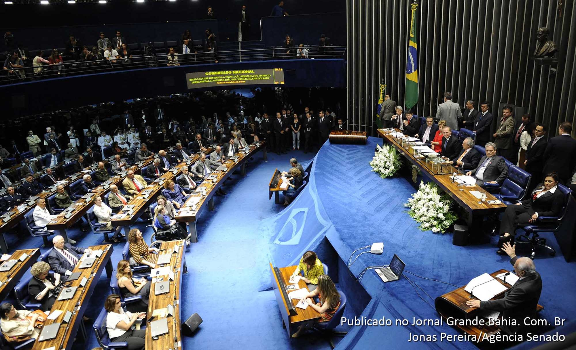 Congresso Nacional examina 17 vetos na quarta-feira; 9 trancam a pauta