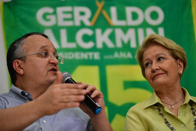 Candidata a vice-presidente, Ana Amélia reforça palanque de Taques em Mato Grosso