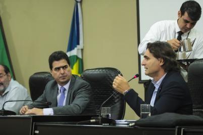 Deputado Emanuel Pinheiro preside Frente Parlamentar na defesa da retomada das obras do VLT            - Foto: