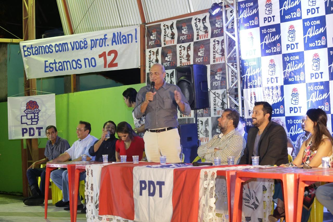 Carlos Lupi reforça projeto do PDT para disputar Governo