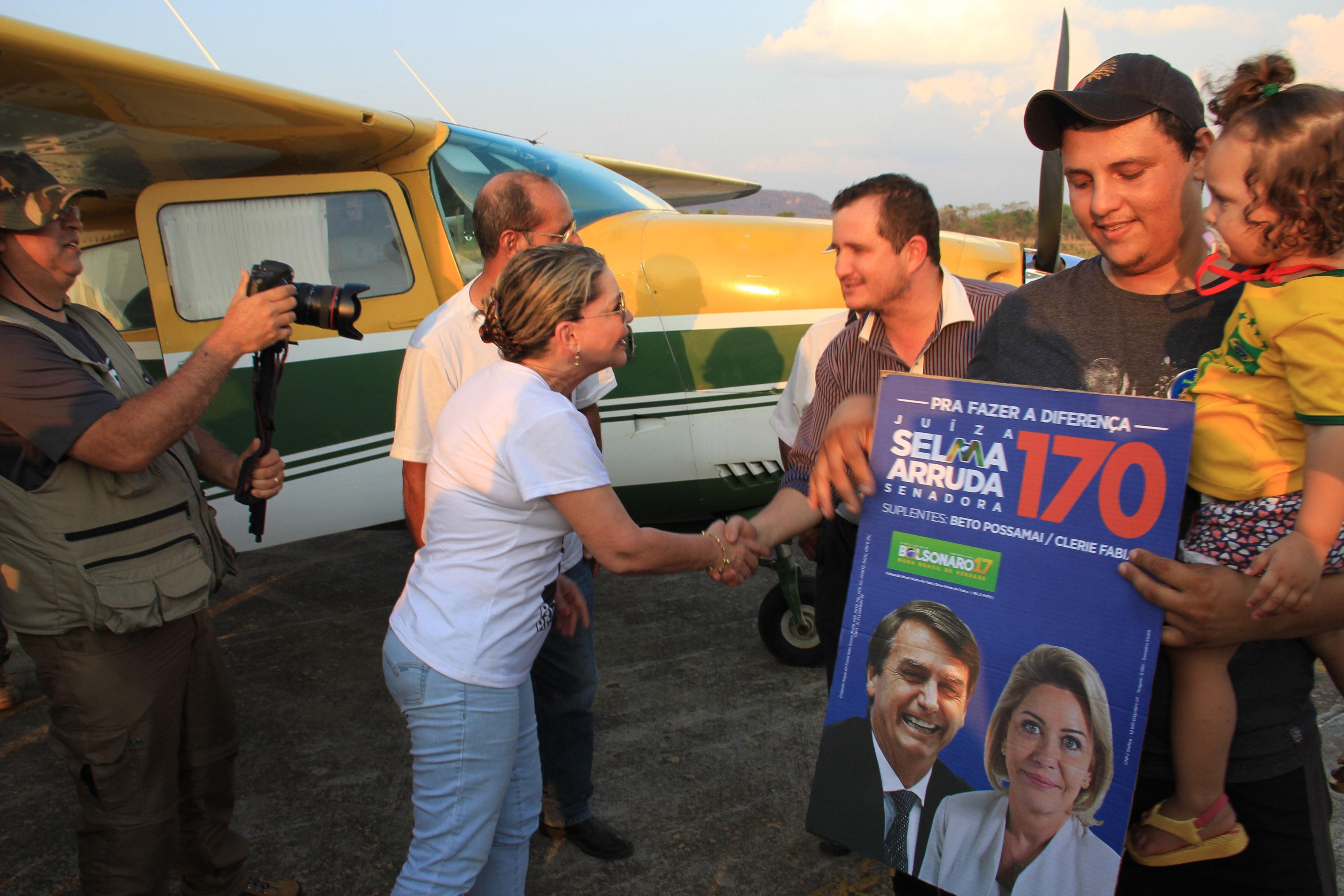 TRE garante 30% da propaganda eleitoral a Selma Arruda na coligação de Taques