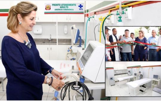 Prefeita entrega 5ª Ala do Hospital e Pronto Socorro de Várzea Grande