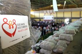Primeira-dama abre doações da 2ª edição da campanha do cobertor