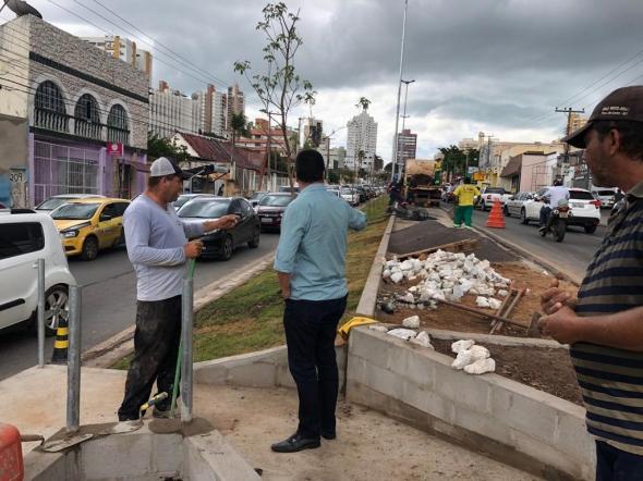 Emanuel confirma entrega de pacote de obras, incluindo revitalização da Av. Mato Grosso