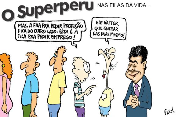 Charge publicada no Diário de Cuiabá em 18 de abril de 2012
