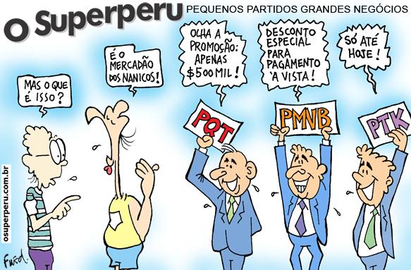 Charge publicada no Diário de Cuiabá em 29 de junho de 2012