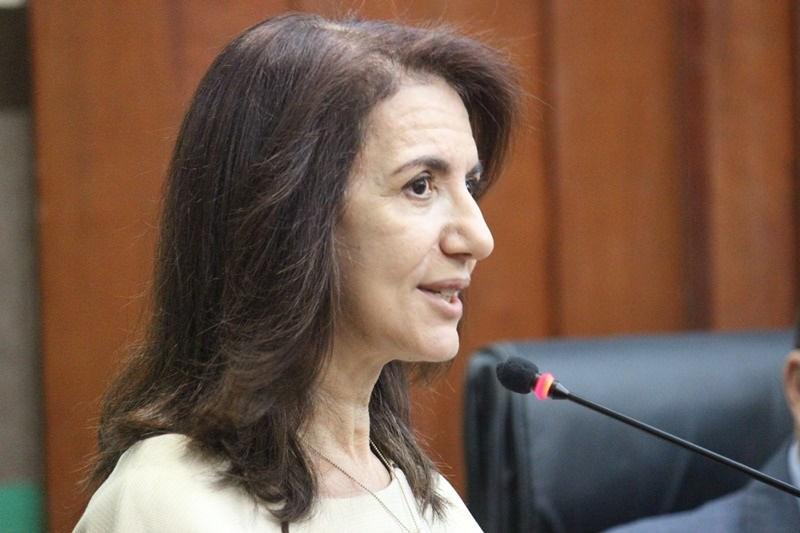 Elda Valim é vice-presidente de controle social da ONG Controle Social de Cuiabá. Foto: Brunna Maria - CMC