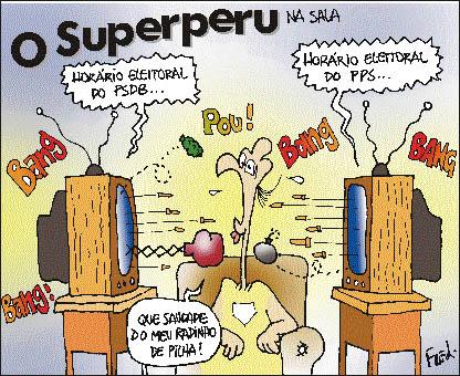 Charge publicada no Diário de Cuiabá em 27 de agosto de 2000