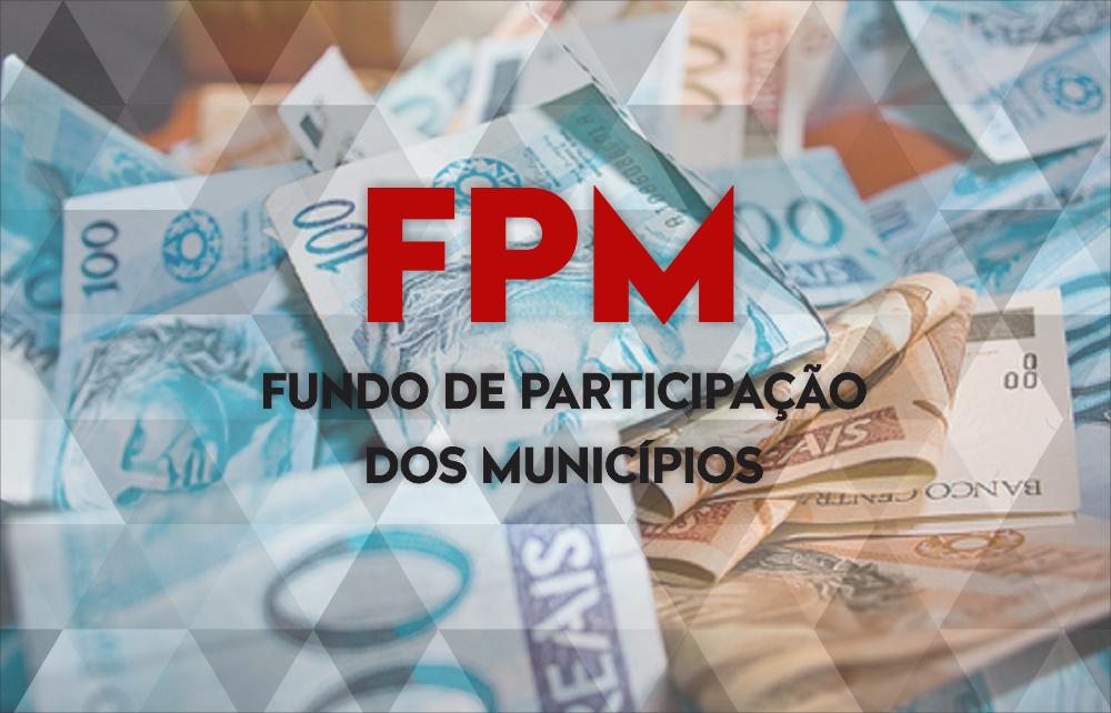 Repasse de R$ 13,4 milhões do FPM às prefeituras amarga queda de 23,9%