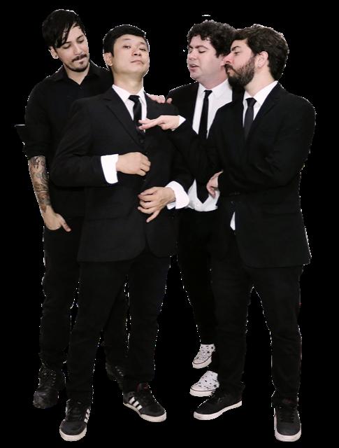 """Com um """"Rock Chiclete Dançante"""", a banda Imitáveis é uma das atrações do Showrrasco"""