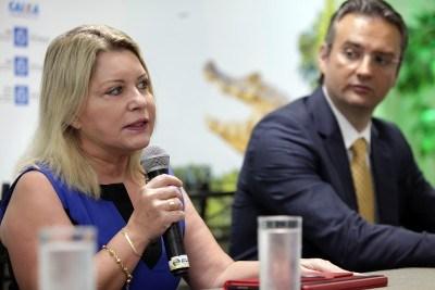 Governador concede escolta a Selma Arruda que recorre ao CNJ
