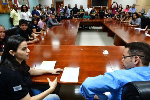 Papiloscopistas pedem na Assembleia Legislativa derrubada de veto governamental