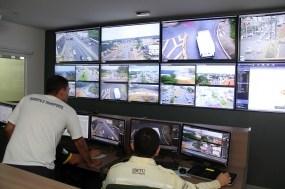 Circulação de caminhões no Centro está sob o crivo de videomonitoramento