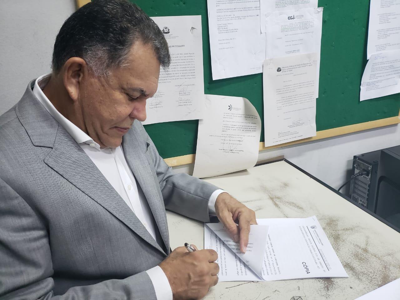 Sebastião Carlos recorre de votos não divulgados nas eleições 2018
