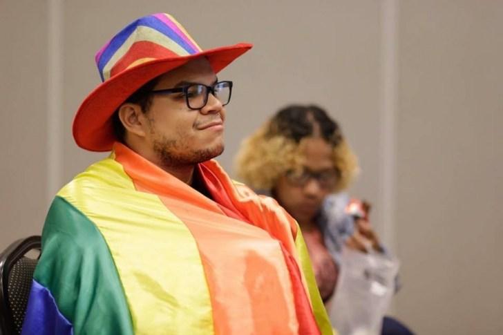 Presidente do Movimento Livre Mente, em Cuiabá, Gabriel Henrique Figueiredo está há seis anos nas causas LGBT. Foto: Hipernoticias - Foto: Foto: Hipernoticias