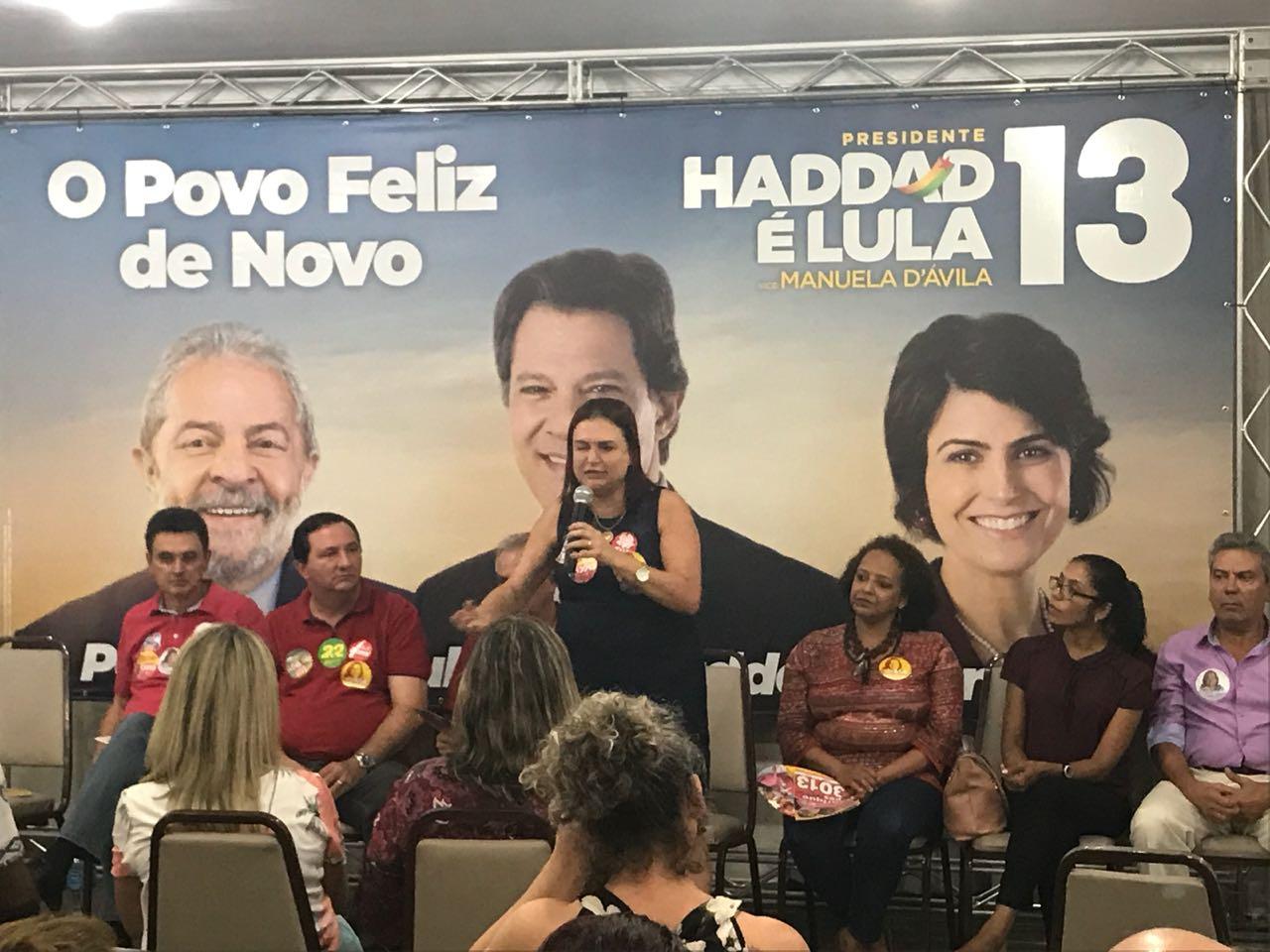 Plenária Popular Lula, Haddad e Manuela reúne mais de 200 lideranças em Cuiabá