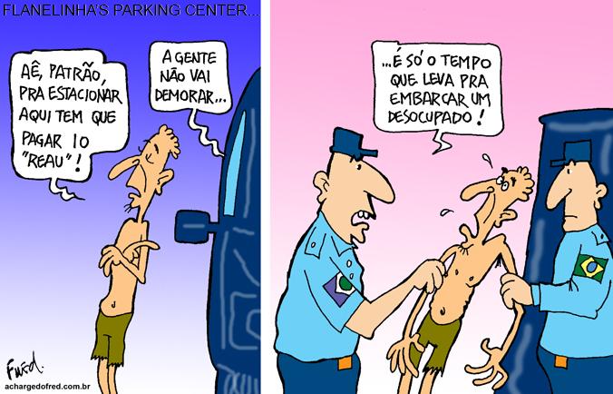 Charge publicada no Midianews em 6 de janeiro de 2012