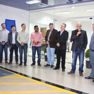Inauguração reúne Executivo, Legislativo e segmento empresarial em Sapezal