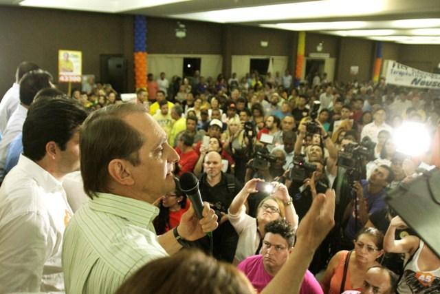 Ato endossa aliança entre PSDB-PSB pela eleição de Wilson
