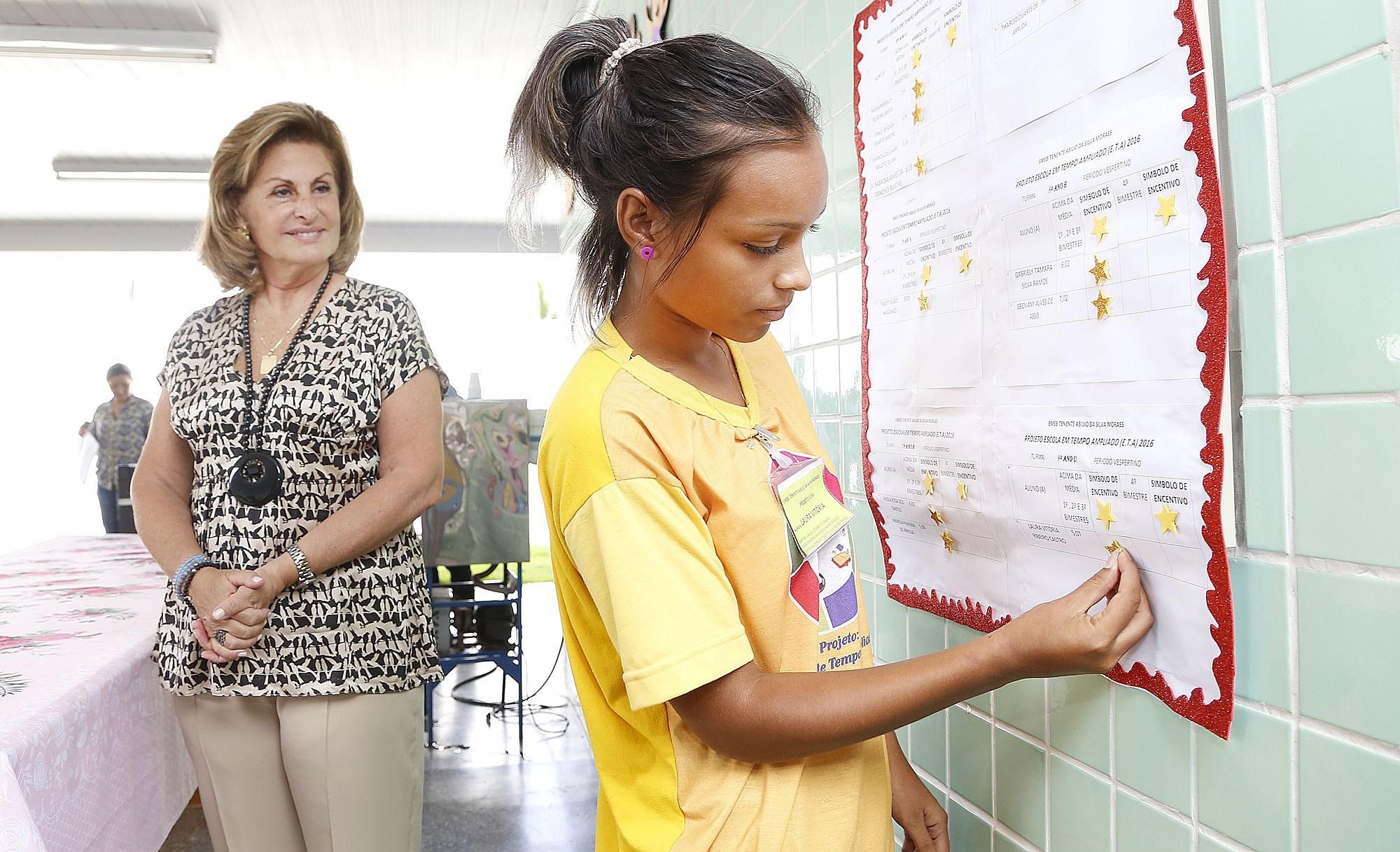 Educação recebe investimentos visando avanços na qualidade