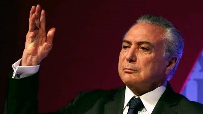 """Temer se compara a Tiradentes e ataca """"torcida pelo fracasso"""", mas não cita denúncias de corrupção"""