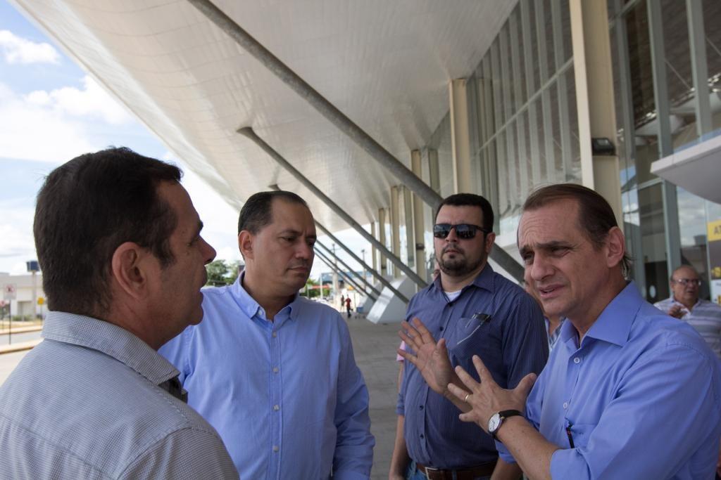 Obras do aeroporto Marechal Rondon são retomadas