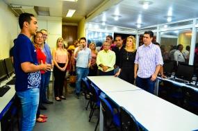 """Prefeitura lança """"Qualifica Cuiabá"""" de capacitação profissional para mais de mil pessoas"""