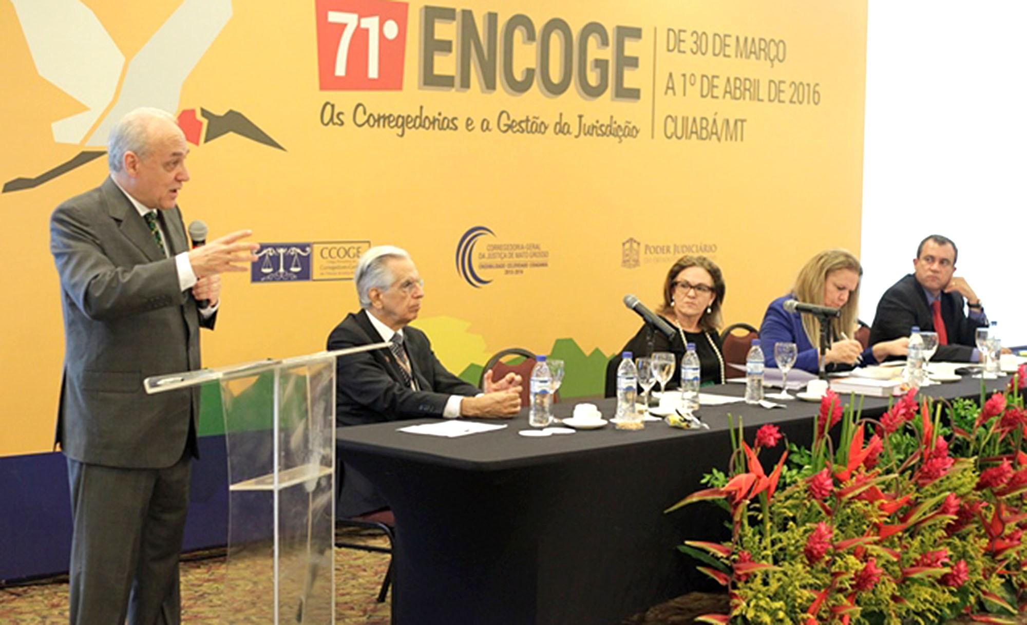Presidente do Colégio Permanente de Corregedores-Gerais de Justiça do Brasil, corregedora-geral do TJ-MT, Maria Erotides Kneip, pontua inovações para a Justiça cidadã                                                                                  - Foto: Reprodução