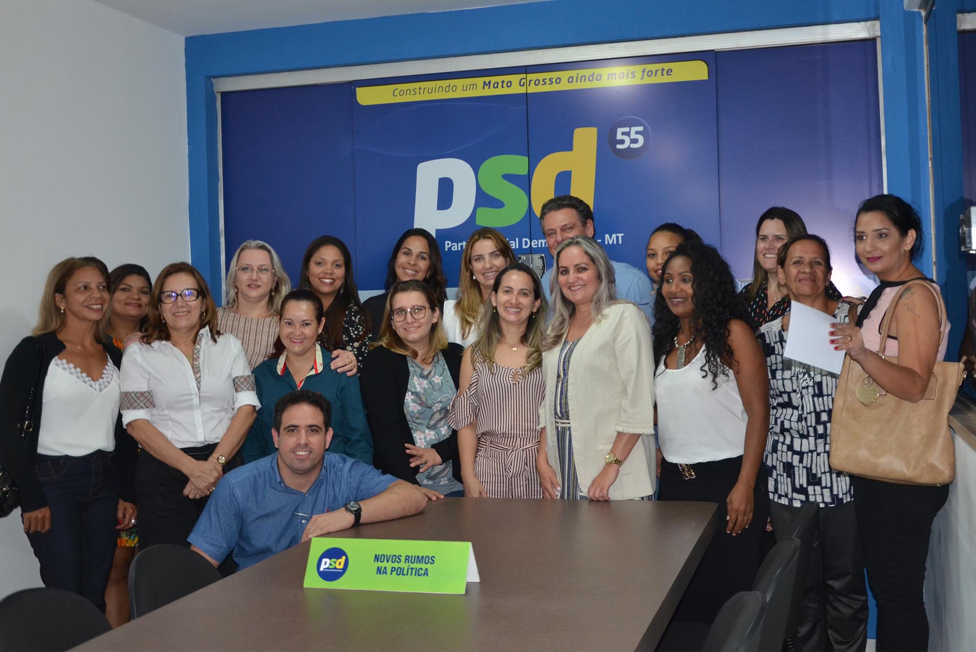 Partido define líder de Poconé na presidência do PSD Mulher