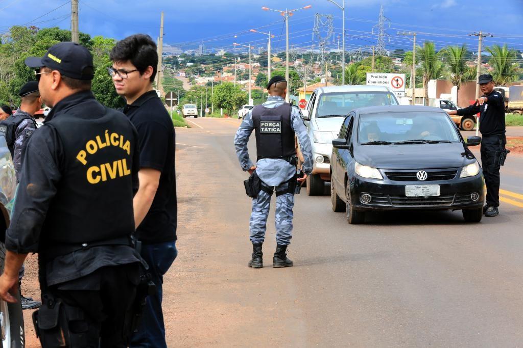 Polícia prende 7 integrantes de grupo criminoso armado em Cuiabá
