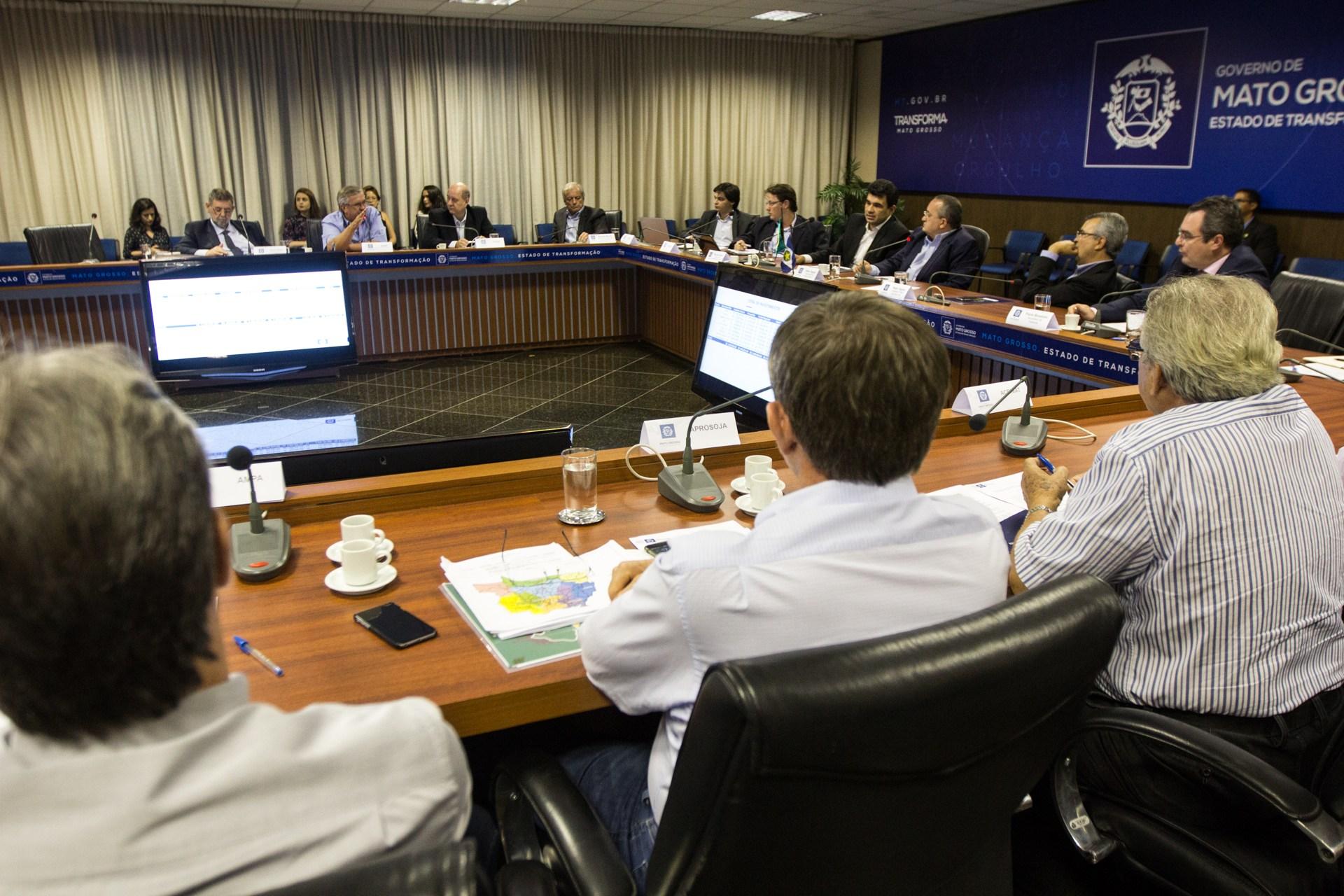 """Conselho Diretor do Fethab aprova ações seguindo """"Pacto por Mato Grosso"""" - Foto:"""