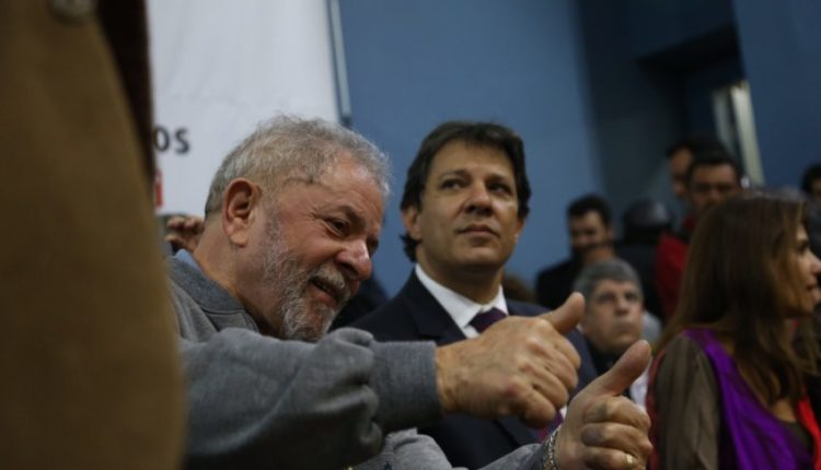 Haddad diz que não vai conceder indulto a Lula se for eleito presidente