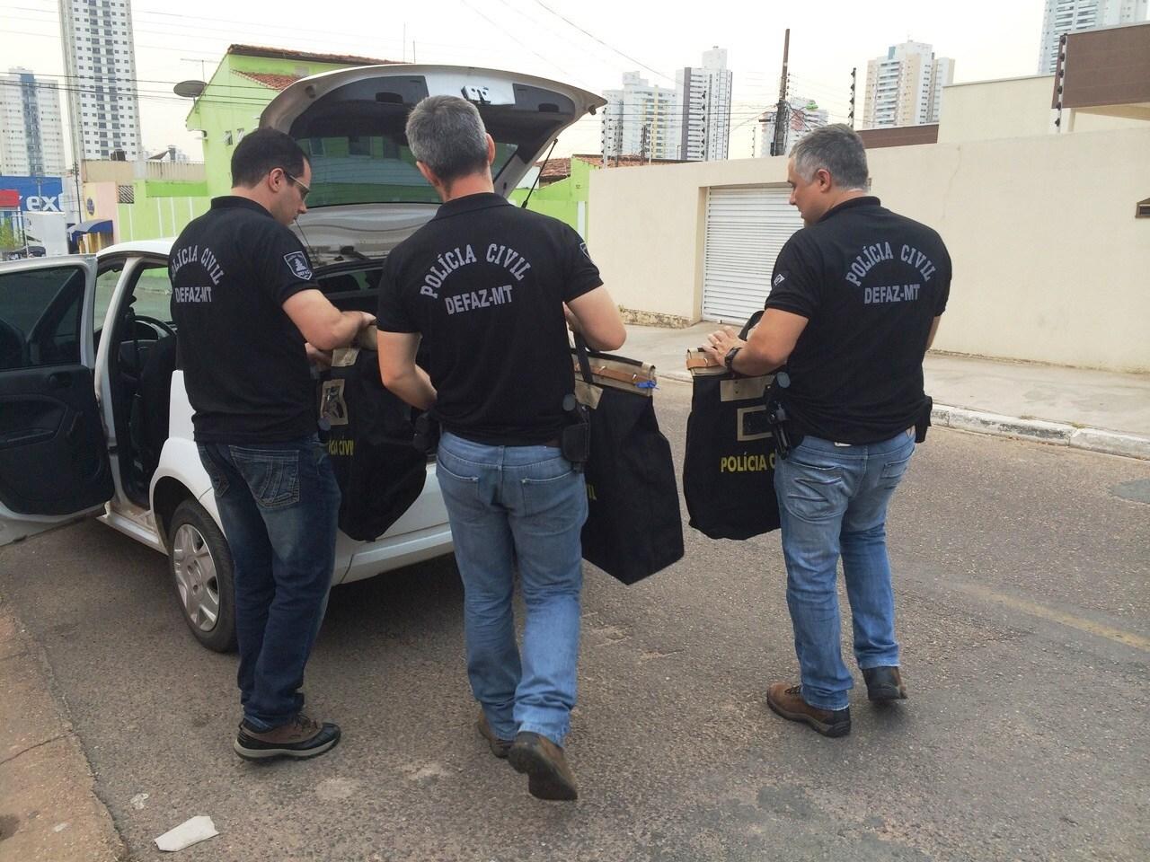 Quatro alvos de MT têm prisão cumprida em operação do Paraná                       - Foto: